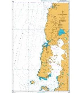 Admiralty 4250 Chile - Bahia Corral to Isla Guafo - Carte marine Admiralty