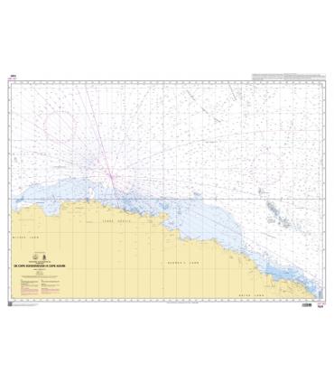 7591 - de Cape Goodenought à Cape Adare - carte marine Shom