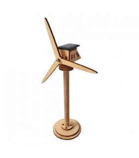 Mini-éolienne solaire