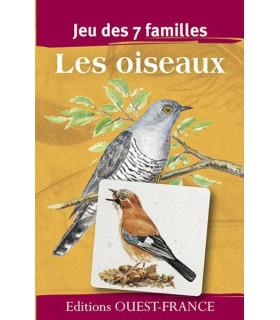 Jeu 7 familles : les oiseaux