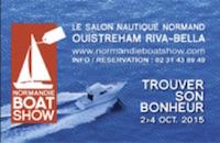 Logo Normandie Boat show