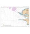 Carte numérique 7066 - De l'Île Vierge à la Pointe de Penmarc'h - Abords de Brest
