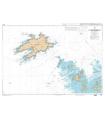 7123 - Ile Molène - Ile d'Ouessant - Passage du Fromveur - Carte marine numérique