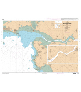 7144 - Embouchure de la Vilaine - De Damgan à La Roche-Bernard - Carte marine numérique