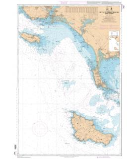7032 - De l'Île de Groix à Belle-Ile - Abords de Lorient - Carte marine numérique