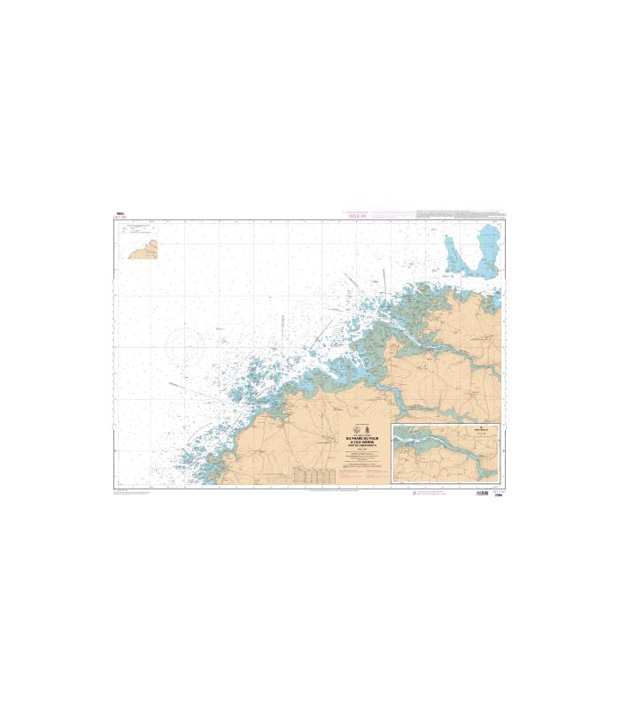 7094 - Du Phare du Four à l'île Vierge - Port de l'Aber-Wrac'h