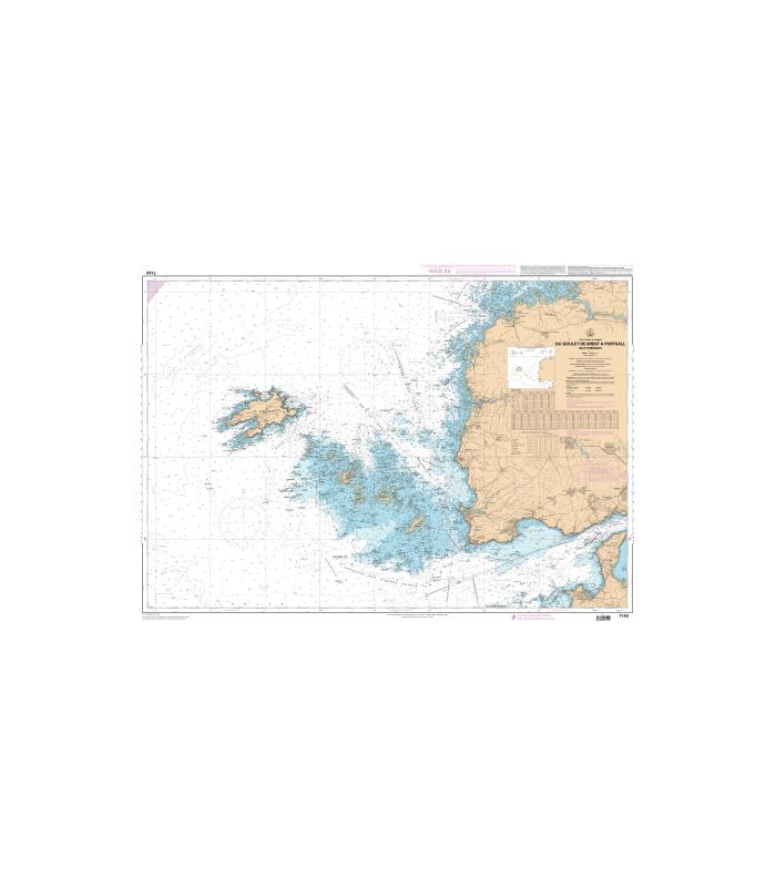 7149 - Du Goulet de Brest à Portsall - Ile d'Ouessant