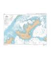 6463 - Île Mangareva - Passe de l'Ouest - Carte marine Shom numérique