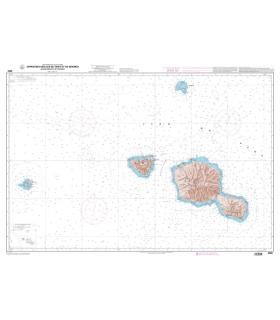 6955 - Approches des îles de Tahiti et de Moorea - Iles de Maiao et de Tetiaroa