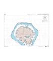 6284 - Partie Sud de Raiatea - Carte marine Shom numérique