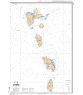 7631 - Petites Antilles - Partie centrale - De Montserrat à Saint Lucia