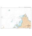 7491 - De Nosy Bé à la Baie d'Antsiranana - Récif du Geyser - Iles Glorieuses - Carte marine numérique