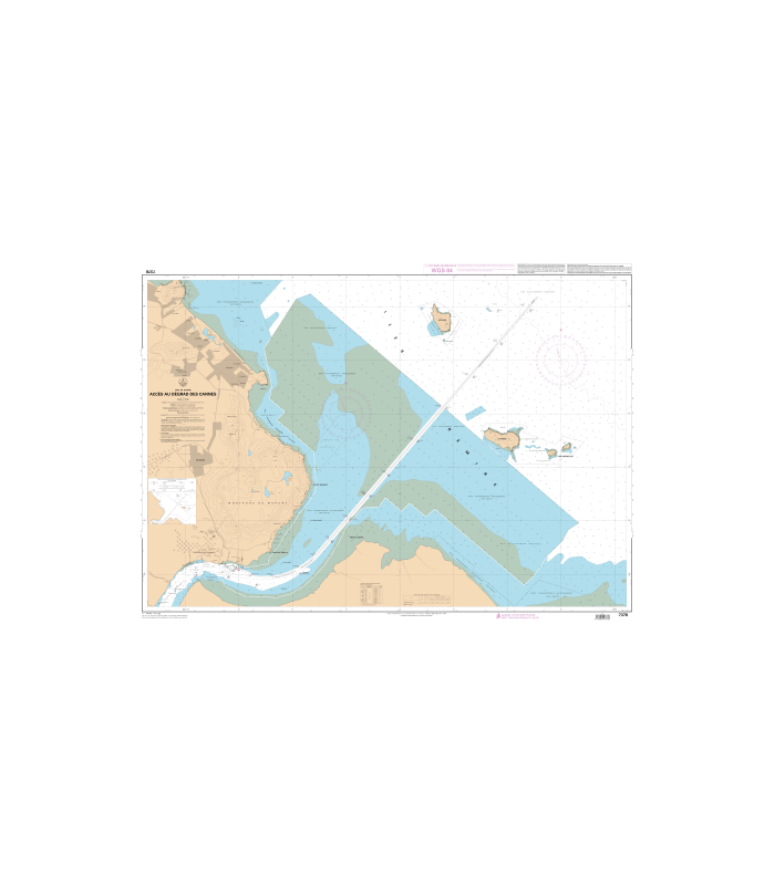 Carte Marine Bresil.Carte Marine Shom Numerique 7378 Acces Au Degrad Des