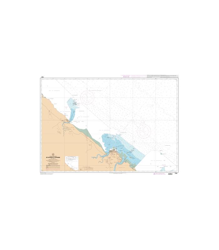 Carte Marine Bresil.Carte Marine Shom Numerique 7381 De Kourou A Cayenne