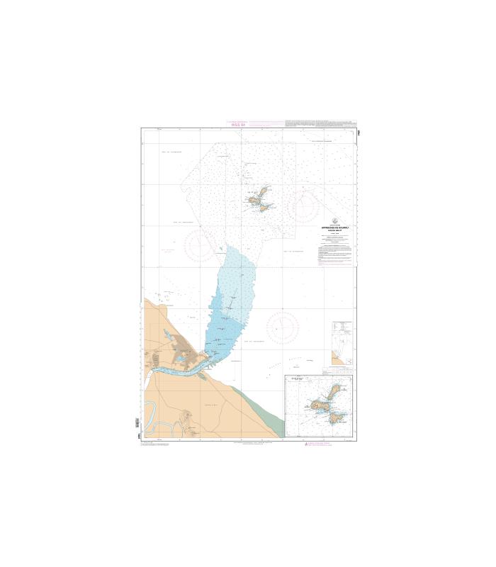 Carte Marine Bresil.Carte Marine Shom Numerique 7481 Approches De Kourou