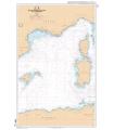 7014 L - Des îles Baléares à la Corse et à la Sardaigne - Carte marine Shom papier