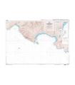6612 L - De Cassis à Bandol - Baie de La Ciotat - Carte marine Shom papier