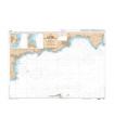 6616 L - Du Cap Bénat au Cap Lardier - Rade de Bormes - Baie de Cavalaire - Carte marine Shom papier