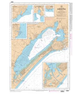 6839 L - Etang de Thau - Carte marine Shom papier