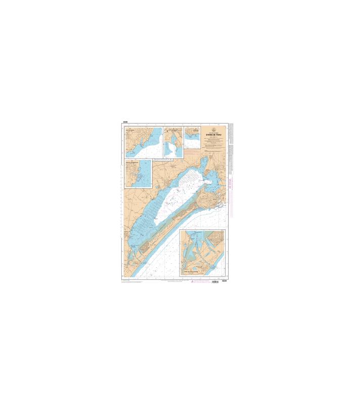 carte marine shom 6839 l etang de thau carte marine shom papier. Black Bedroom Furniture Sets. Home Design Ideas