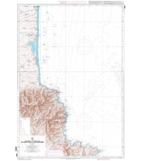 6843 L - Du Cabo Creus à Port-Barcarès - Carte marine Shom papier