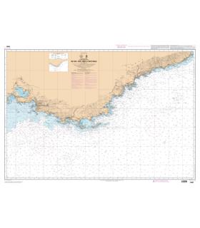 6951 L - De Fos-sur-Mer à Capo Mele - Carte marine Shom papier
