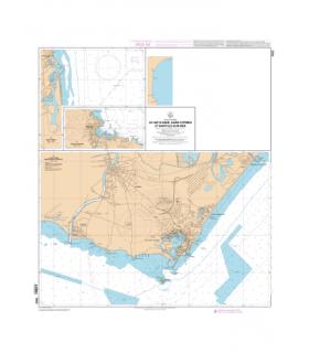7003 L - Le Cap d'Agde - Embouchure de l'Hérault - Carte marine Shom papier