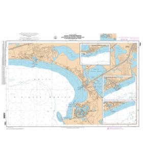 7004 L - Golfe d'Aigues-Mortes, Ports de Palavas-les-Flots, Carnon-Plage etde Saintes-Maries-de-la-Mer - Carte Shom papier