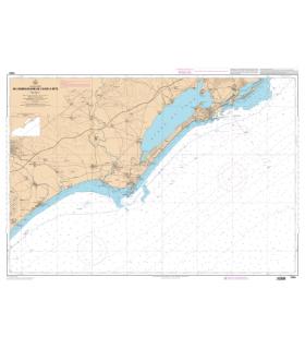 7054 L - De l'embouchure de l'Aude à Sète - Carte marine Shom papier