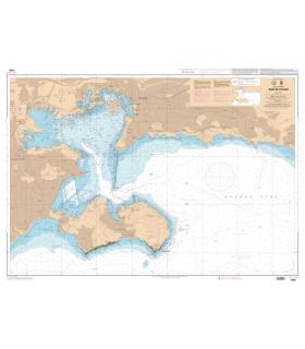 7093 L - Rade de Toulon - Carte marine Shom papier
