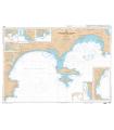 7205 L - Golfe de La Napoule - Golfe Juan - Iles de Lérins - Abords de Cannes - Carte marine Shom papier