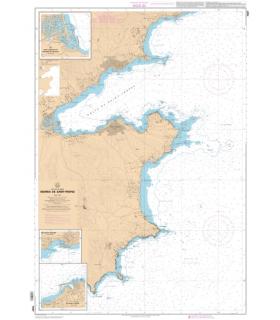 7267 L - Abords de Saint-Tropez - Carte marine Shom papier