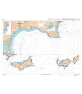 7282 L - Rade d'Hyères - Carte marine Shom papier