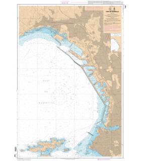 7390 L - Port de Marseille - Carte marine Shom papier