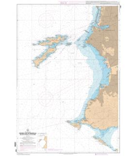 7391 L - Abords Sud de Marseille - Des Iles du Frioul à l'Ile de Jarre - Carte marine Shom papier