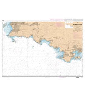 7406 L - De Marseille à Toulon - Carte marine Shom papier