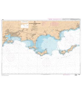 7407 L - De Toulon à Cavalaire-sur-Mer - Iles d'Hyères - Carte marine Shom papier
