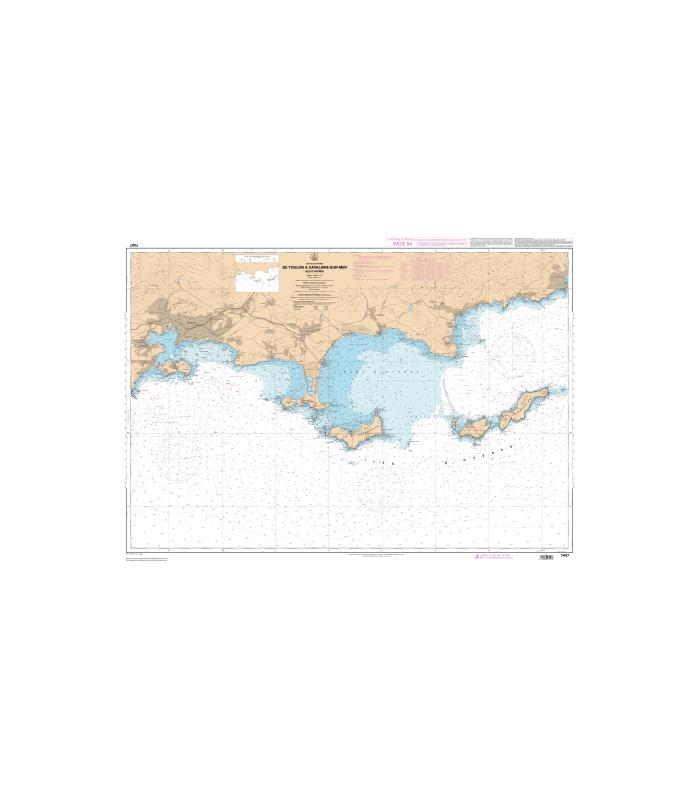 7407 L - De Toulon à Cavalaire-sur-Mer - Iles d'Hyères