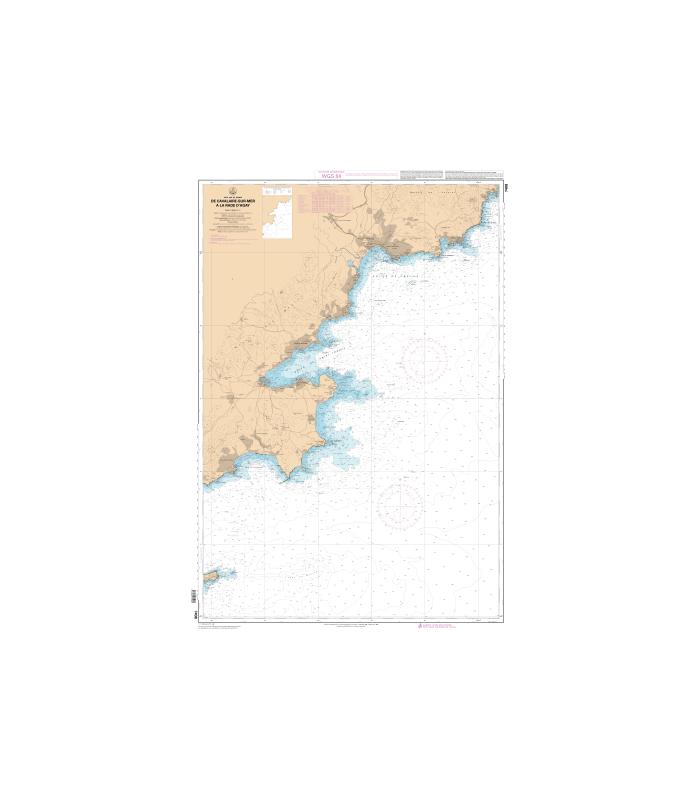 7408 L - De Cavalaire-sur-Mer à la Rade d'Agay
