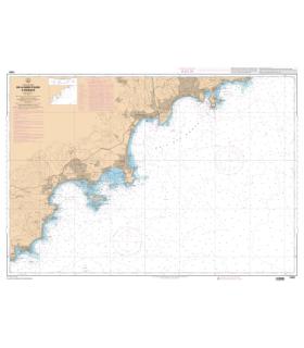 7409 L - De la Rade d'Agay à Monaco - Carte marine Shom papier