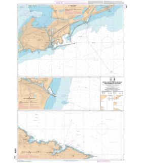 7434 L - Ports de Sète, Port-la-Nouvelle, Port-Vendres et Collioure - Carte marine Shom papier