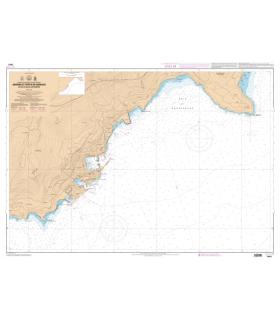 7441 L - Abords et Ports de Monaco - Du Cap d'Ail au Cap Martin - Carte marine Shom papier