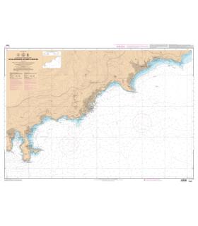 7442 L - De Villefranche-sur-Mer à Menton - Carte marine Shom papier