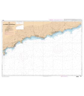 7443 L - Du Cap Ferrat à Capo San Lorenzo - Carte marine Shom papier