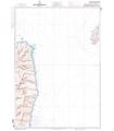 6822 L - Abords Nord de Bastia - Carte marine Shom papier