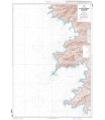 6942 L - De Punta d'Orchina au Cap Muro - Abords d'Ajaccio - Carte marine Shom papier