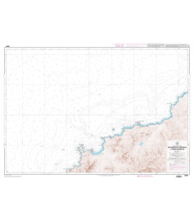 6970 L - De Punta di l'Acciolu à Capo Cavallo - Carte marine Shom papier