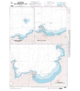 6980 L - L'Ile Rousse - Sant'Ambrogio - Calvi - Carte marine Shom papier