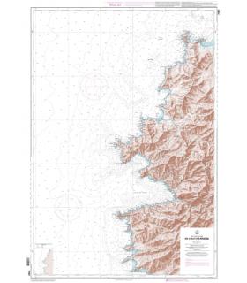 7050 L - De Calvi à Cargèse - Carte marine Shom papier