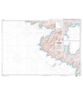 7162 L - Du Cap Muro au Cap de Feno - Carte marine Shom papier